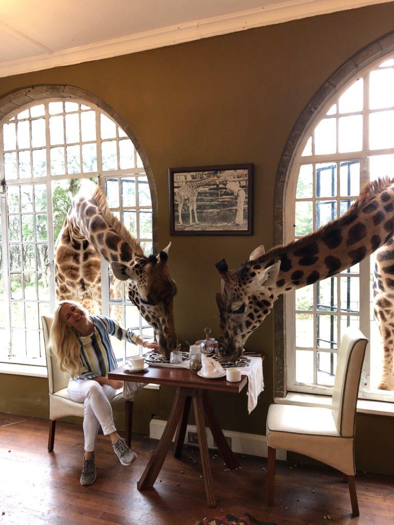 Ines Juranovic Giraffe Manor